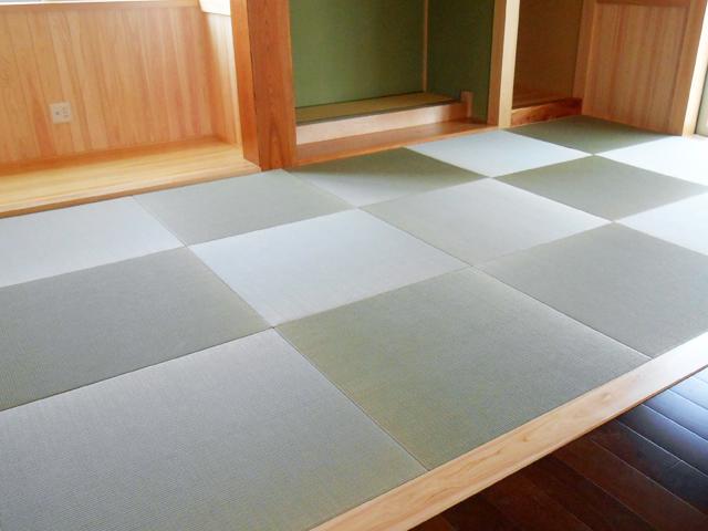へりなし琉球畳の写真
